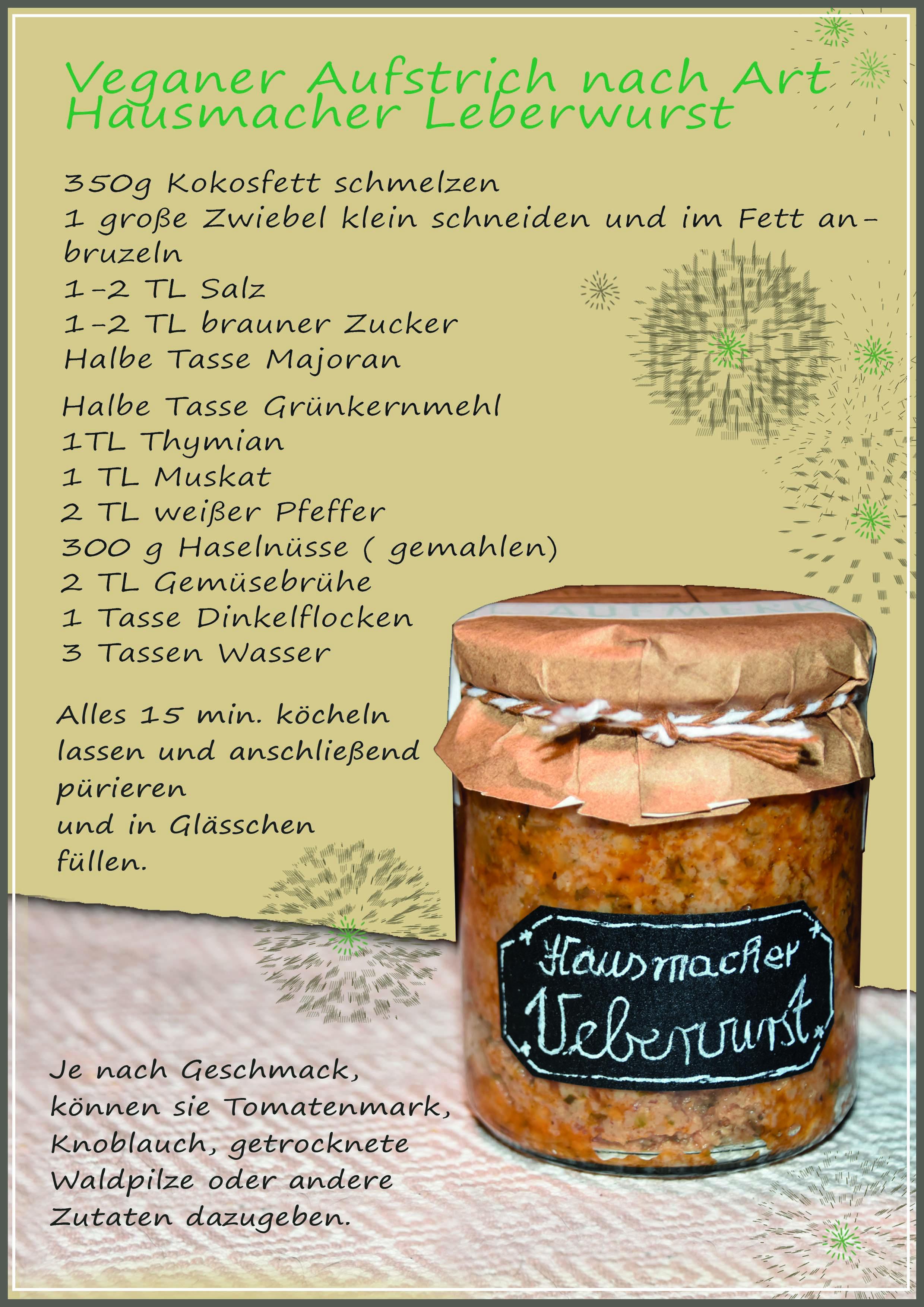 Rezept Leberwurst